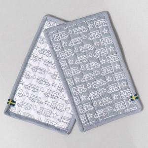 Grytlappar Husbilsmönster 2-pack