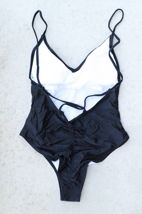 Cross Back Swimsuit