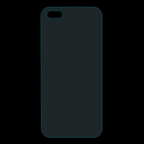 Härdat glas till baksidan för iPhone SE, 5, 5s