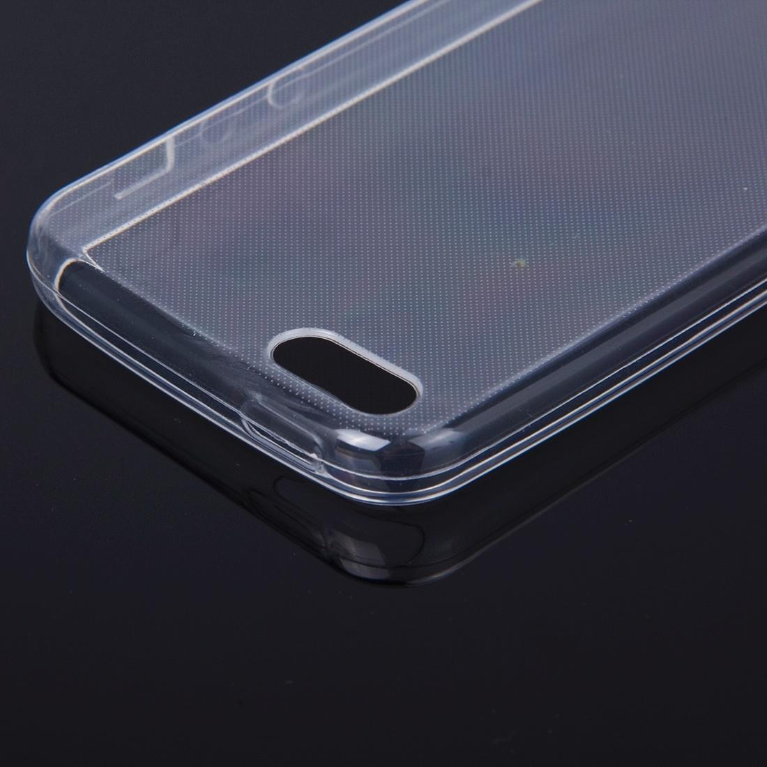 Transparent TPU skal för iPhone SE, iPhone 5, iPhone 5s
