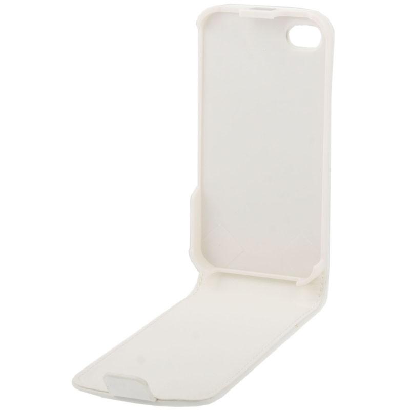 Vertikalt läder fodral till iPhone 4 & 4s