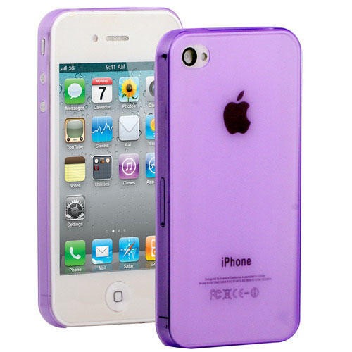 Ultratunt 1mm mobilskal till iPhone 4 & 4s