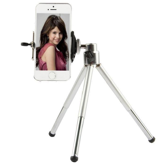 Ihopfällbar roterbart kamerastativ för mobiler