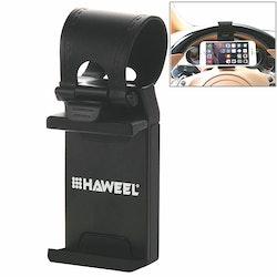HAWEEL - Mobilhållare för ratt