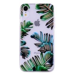Bananblad- skal för iPhone XR