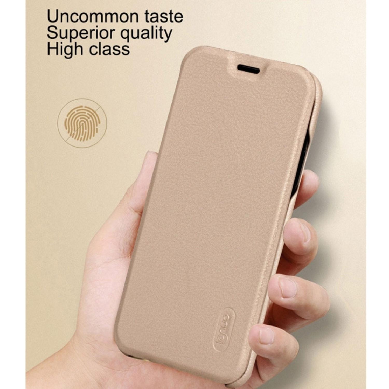 Fodral med kortficka - iPhone X - Äkta läder