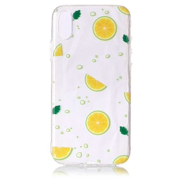 Citroner -skal för iPhone X / XS