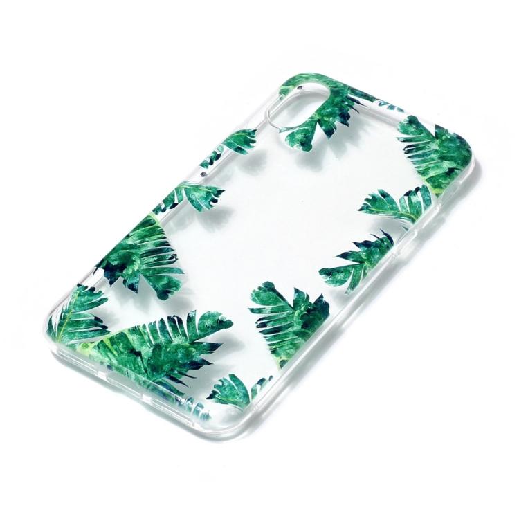 Palmblad - skal för iPhone X