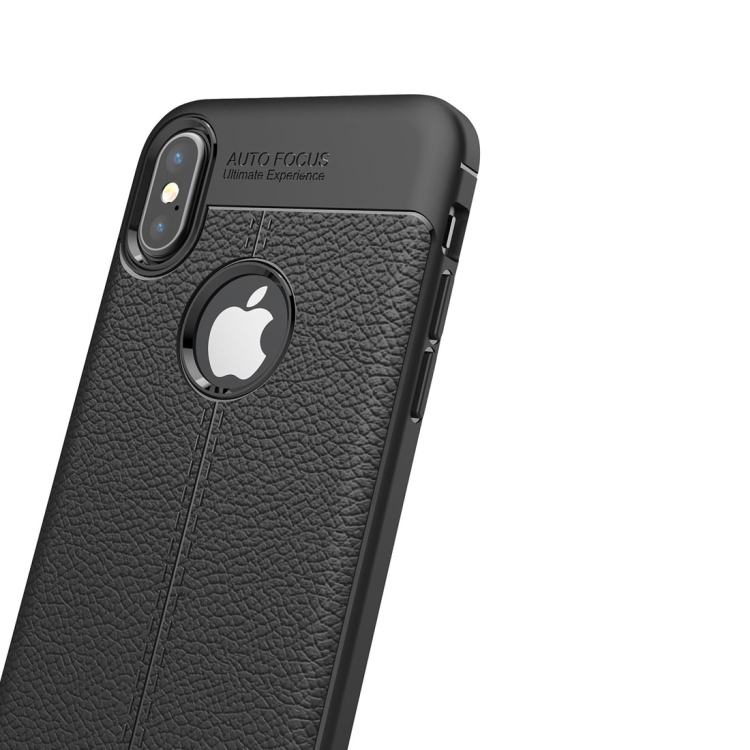 Stilrent Stöttåligt TPU-skal för iPhone X/XS