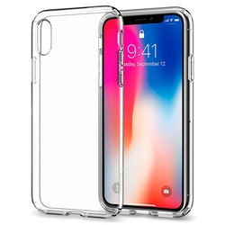iPhone X Transparent TPU skal