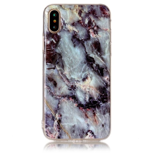 Felrfärgat Marmorskal för iPhone X/XS