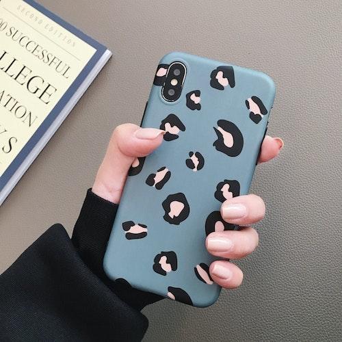 Leopard-skal för iPhone X/XS