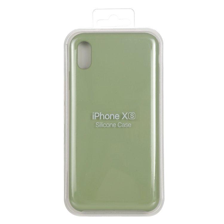 iPhone X/XS- Silicone Case - Mobilskal i silikon och fiberduk