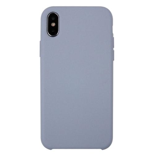 iPhone X/XS - Silicone Case - Mobilskal i silikon och fiberduk