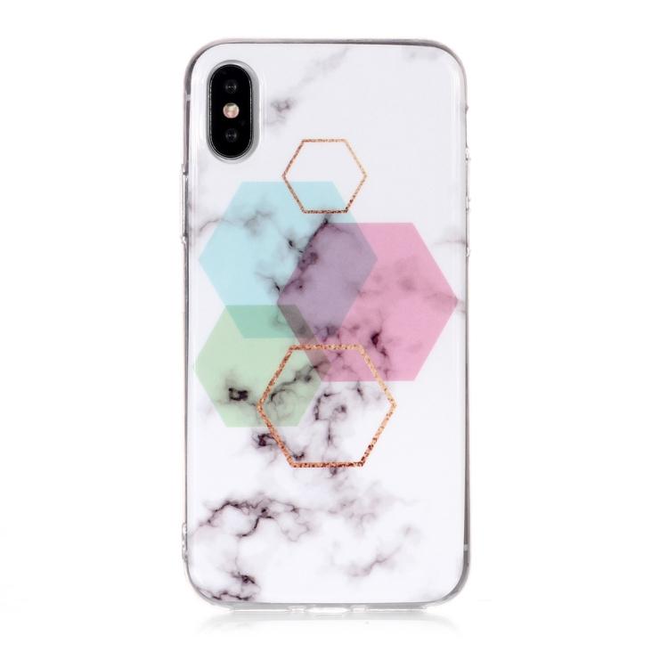 Marmorskal med mönster -till iPhone Xs Max