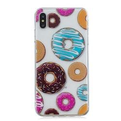 Donuts I olika färger- skal till iPhone Xs MAX