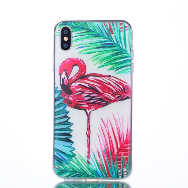 Flamingo -skal för iPhone Xs Max