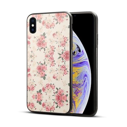 Rosor -skal för iPhone Xs Max