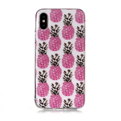 Rosa ananasskal - för iPhone Xs Max