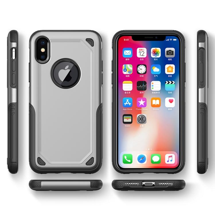 Stilrent tåligt skal - iPhone Xs MAX