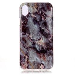 Grå Marmor -skal för iPhone Xs Max