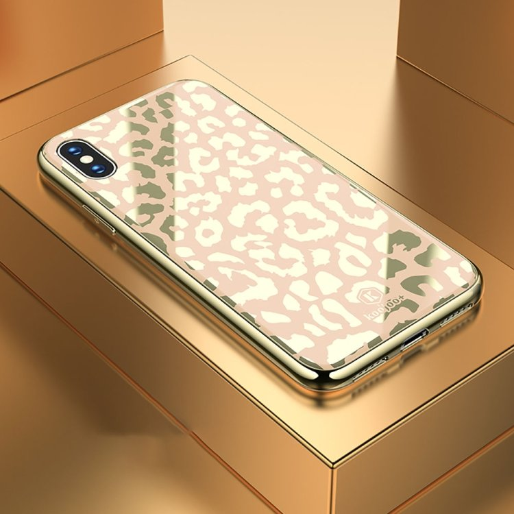 Leopard -skal för iPhone Xs Max