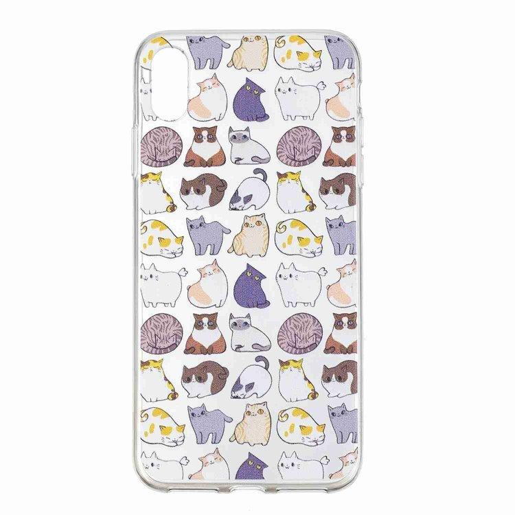 Mini katter -skal för iPhone Xs Max