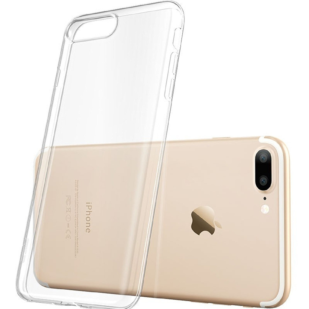 Transparent skal i TPU- iPhone 7/8 Plus