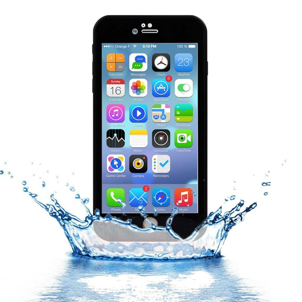 Vatten och stöttålig skal för iPhone 7/8 Plus