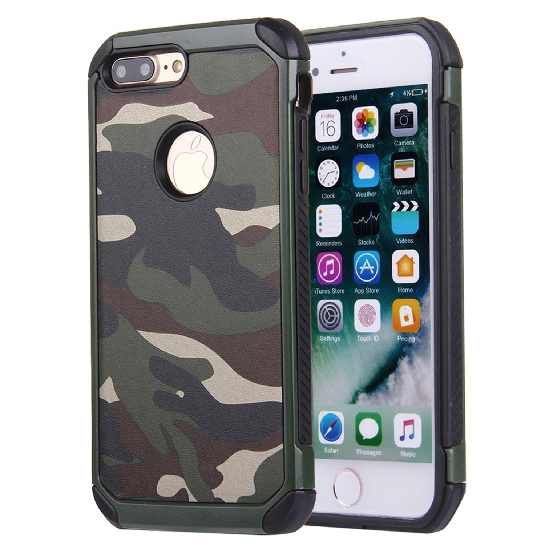 Stöttåligt skal- camouflage för iPhone 7/8 Plus