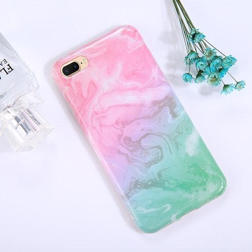 Marmor- skal till iPhone 7/8 plus