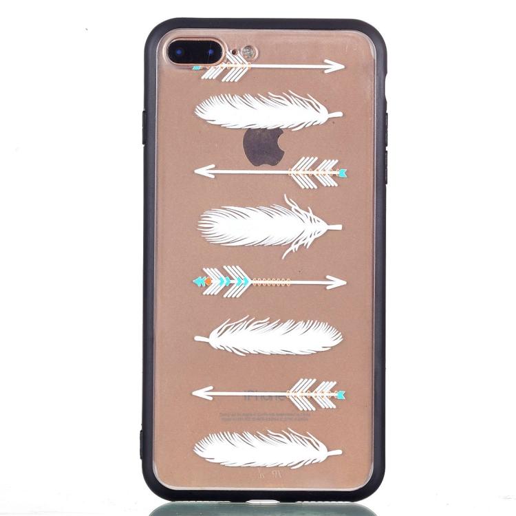 Skal med fjädrar och pilar - iPhone 7/8 plus