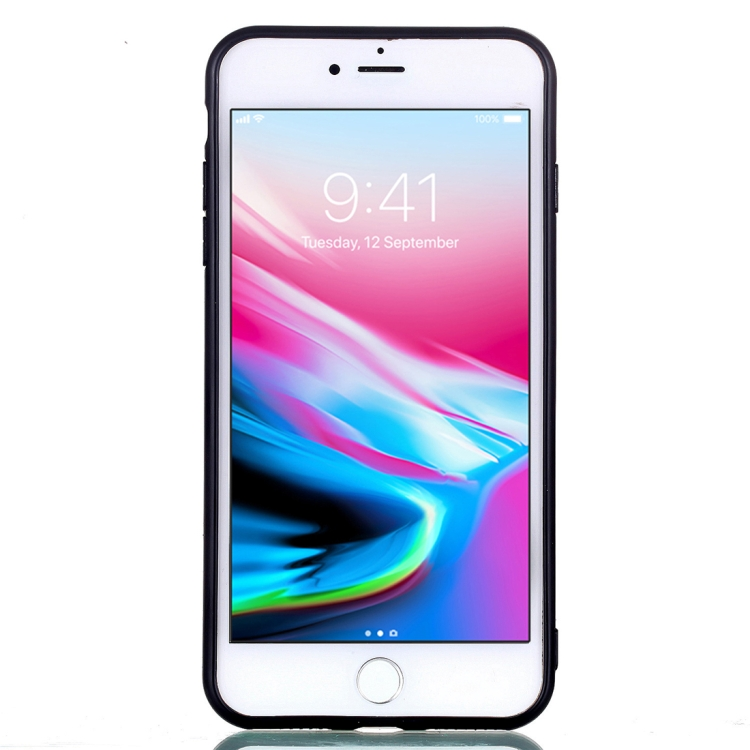 Skal med enhörningar och hjärtan - iPhone 7/8 plus
