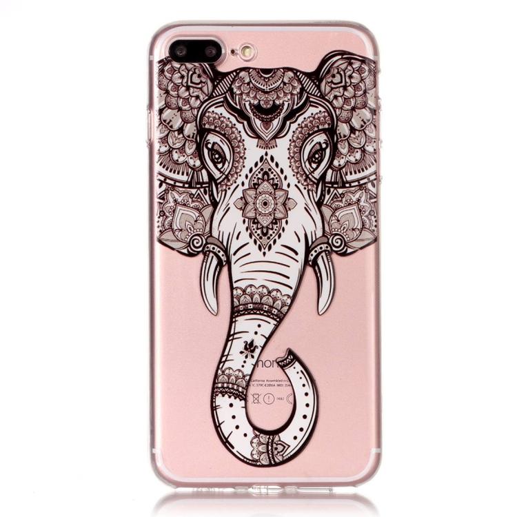 Skal med elefant - iPhone 7/8 plus