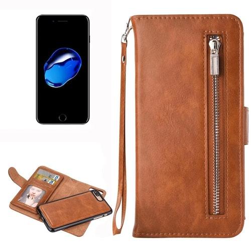 Plånbok med magnetskal- iPhone 7/8 Plus