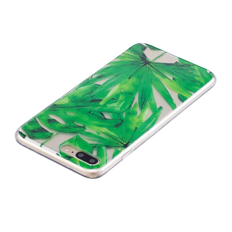 Skal med bladmönster för iPhone 7/8 plus