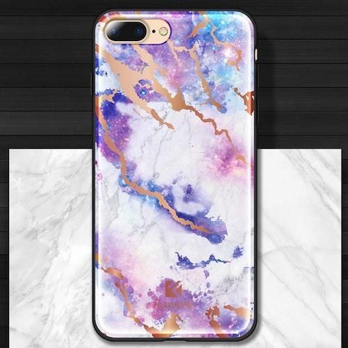 Marmor Sten-skal för iPhone 7/8 plus