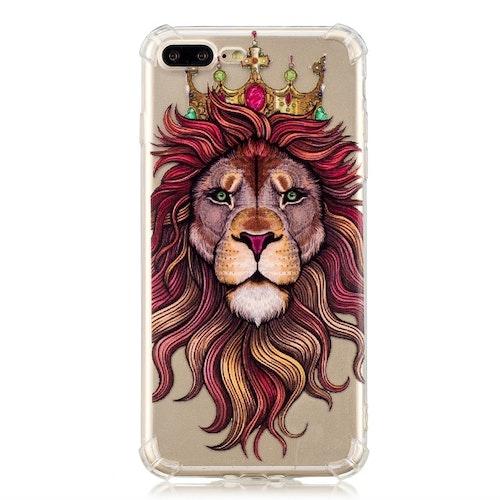 Lejonhuvud- Skal för iPhone 7/8 plus