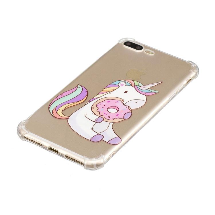 Enhörning med donut- skal för iPhone 7/8 plus