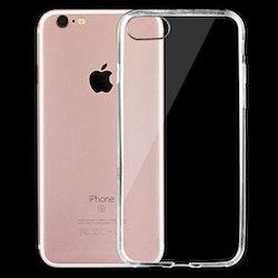 Transparent 0.75mm TPU-skydd- iPhone 7/8