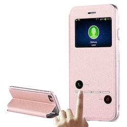 Fodral med Call-ID & Svara funktion- iPhone 7/8