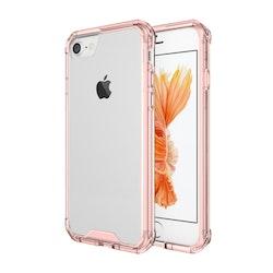 Stöttåligt Mobilskal med färgram- iPhone 7/8