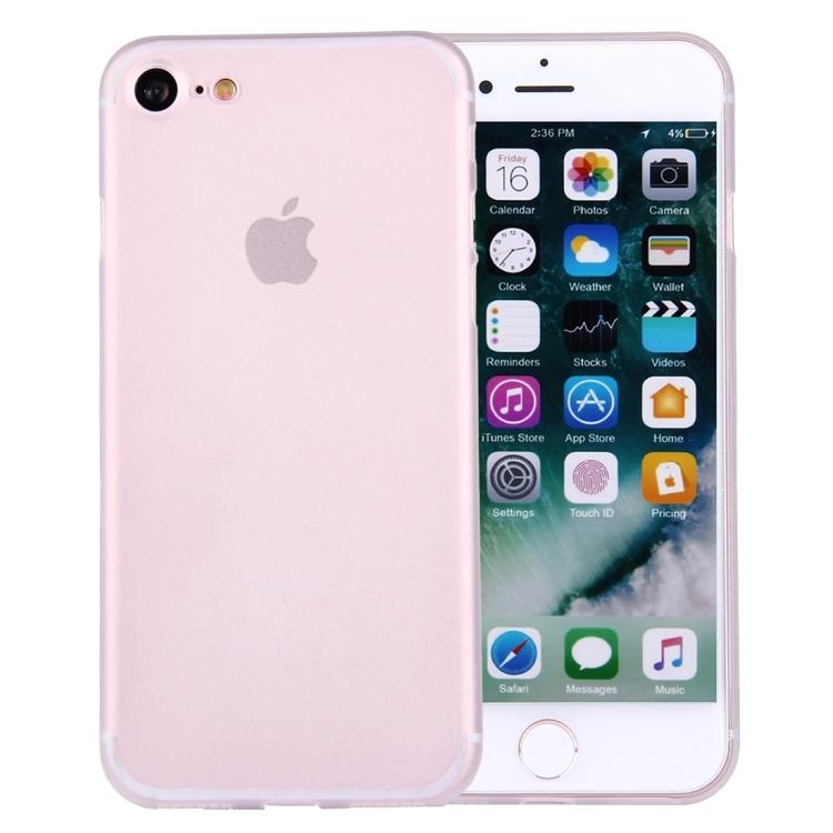 Transparent frostat skal - iPhone 7/8
