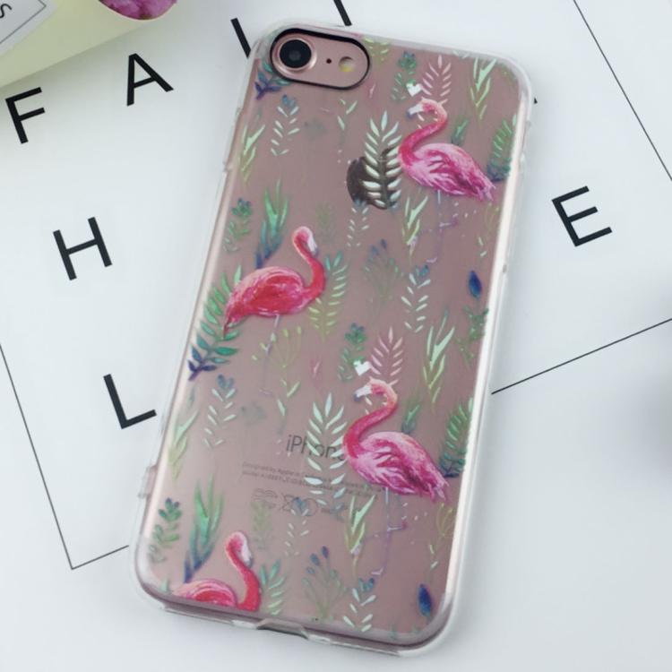 Flamingo skal - iPhone 7/8
