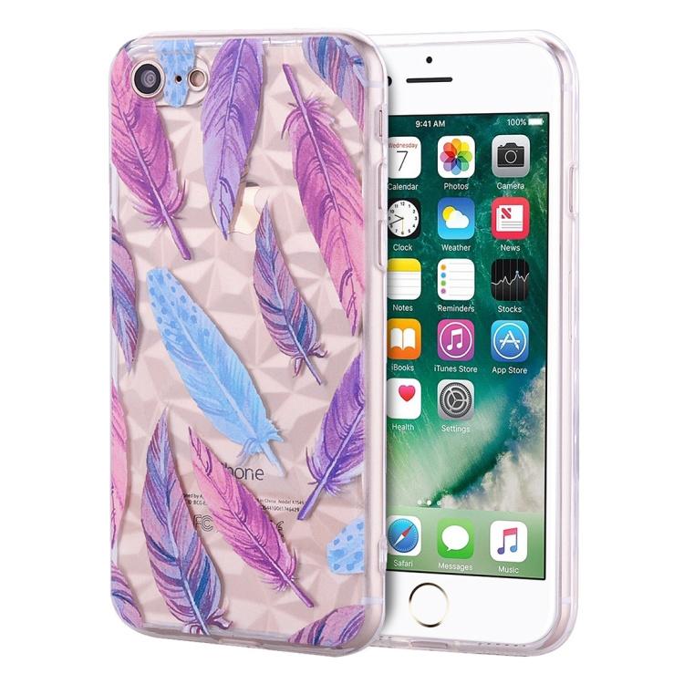 Skal med fjädrar - iPhone 7/8
