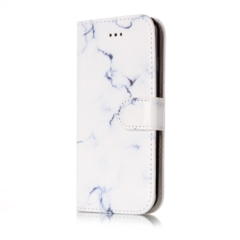 Plånbok med marmor- till iPhone 7/8