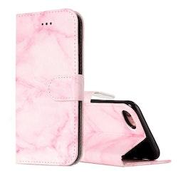 Plånbok med marmor-mönster för iPhone 7/8
