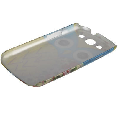Blå Uggla - mobilskal i plast till Samsung Galaxy S3