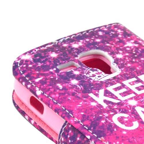 Keep Calm - Plånbok till Samsung Galaxy Trend Duos