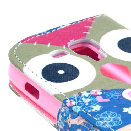Uggla - Plånbok till Samsung Galaxy Trend Duos